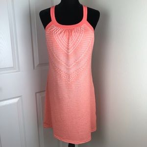 Prana Cantine Dress in Peach Synergy